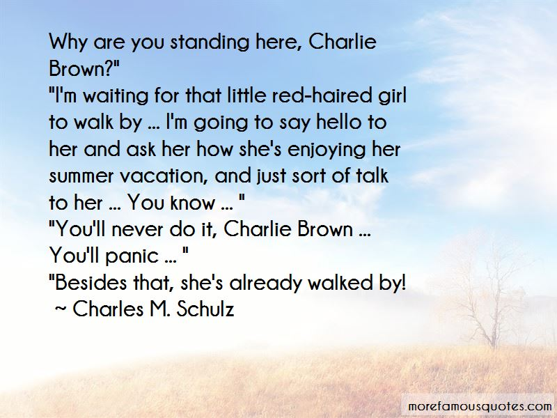 Standing Besides You Quotes
