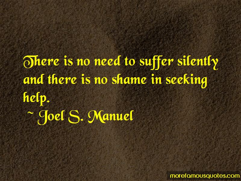 Suffer Silently Quotes