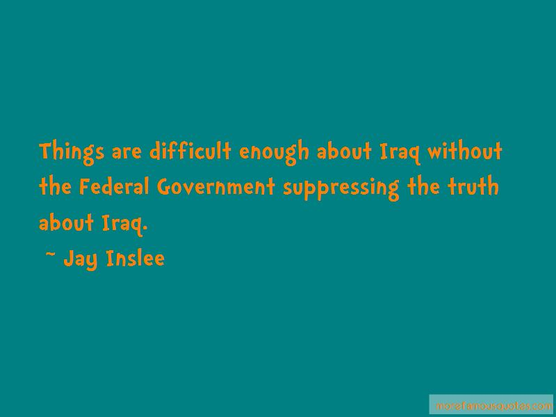 Suppressing The Truth Quotes