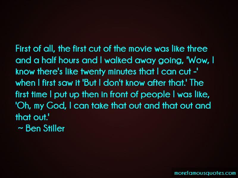 Take Away Movie Quotes