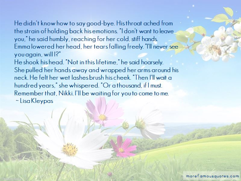 Tears Falling Quotes