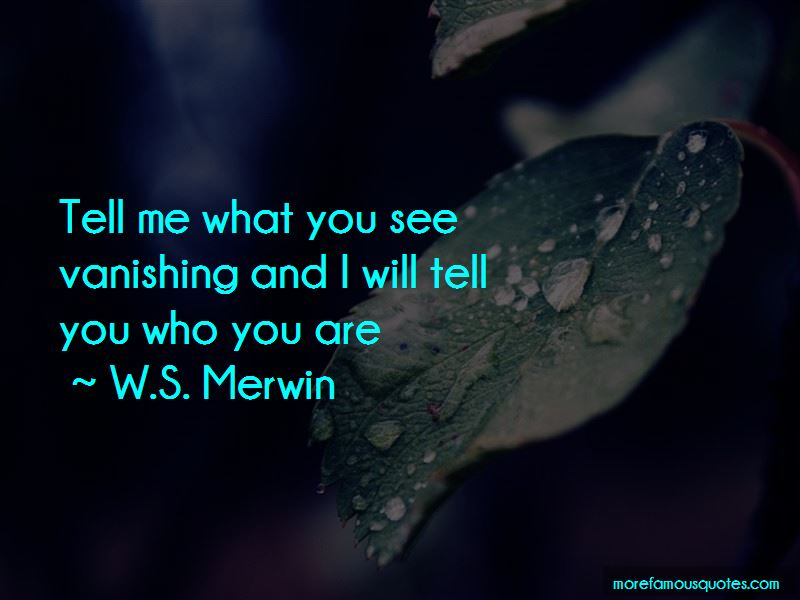 Tell Me What You See Quotes