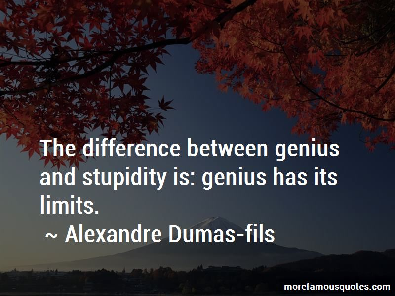 The Difference Between Stupidity And Genius Quotes Pictures 2