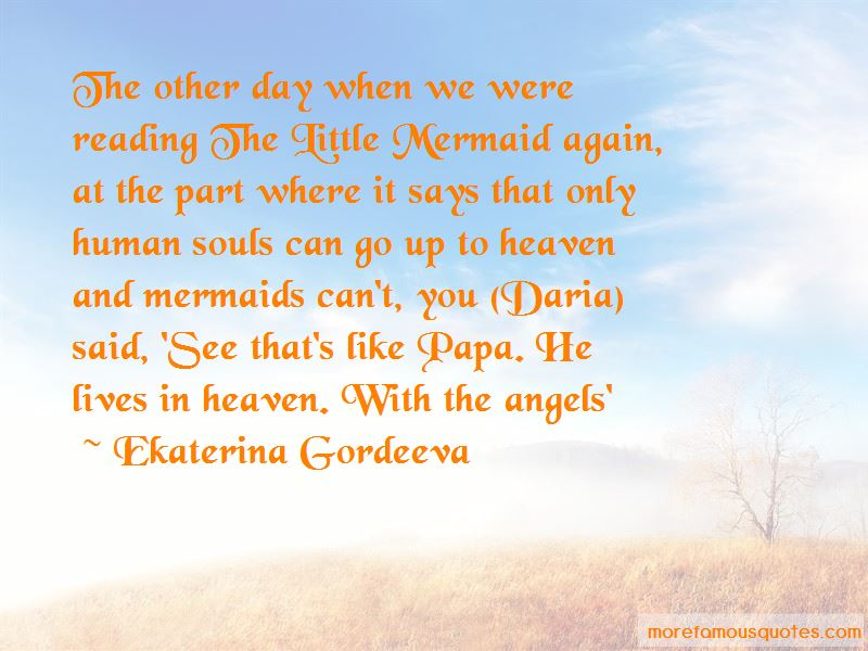 The Little Mermaid Quotes: top 38 quotes about The Little ...