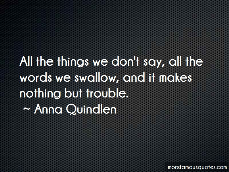 Things We Don't Say Quotes