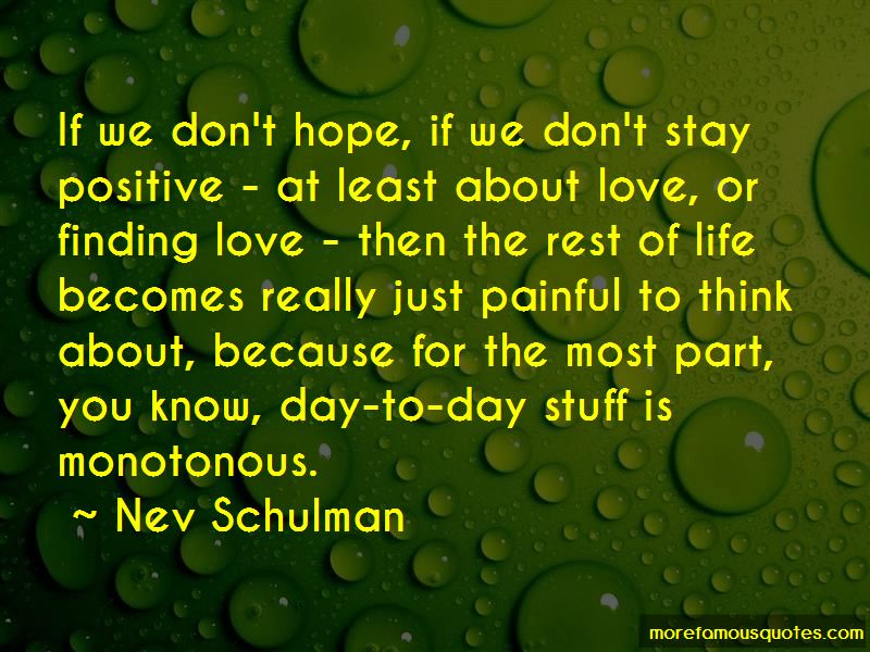 Think Positive Love Quotes