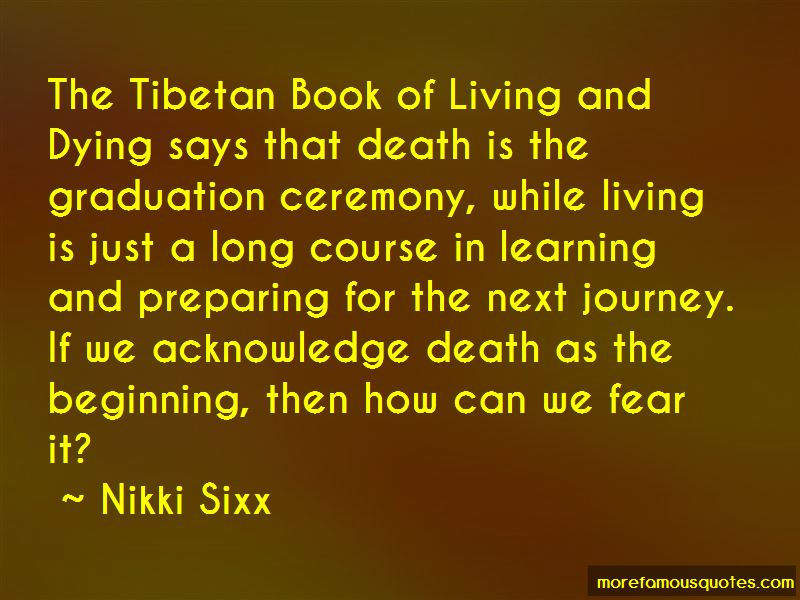 Tibetan Book Of Living And Dying Death Quotes