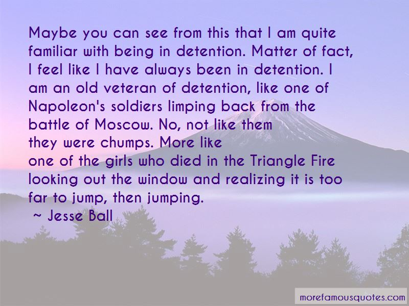 Triangle Fire Quotes