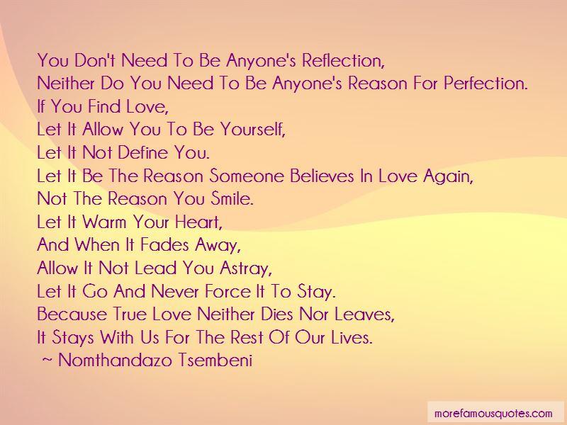 True Love Fades Quotes