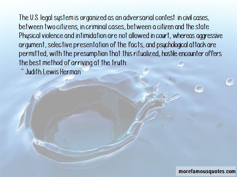 U.s. Legal System Quotes
