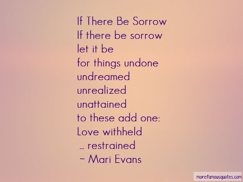 Unattained Love Quotes