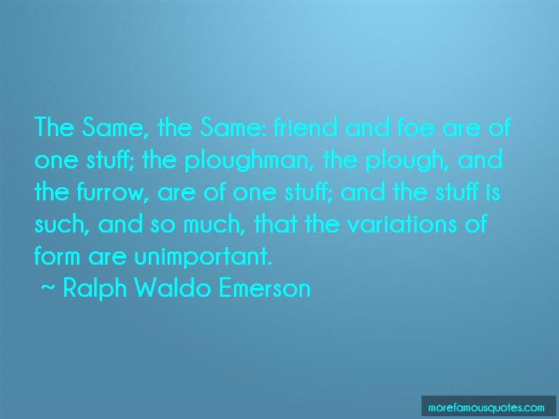 Unimportant Friend Quotes