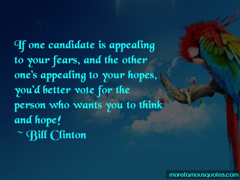 Vote Appealing Quotes