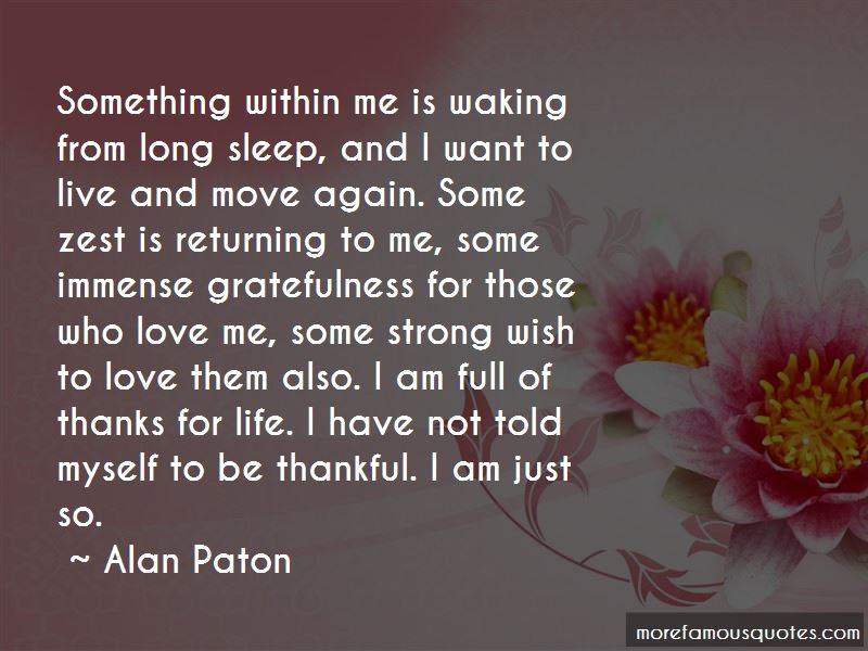 Waking Up Thankful Quotes