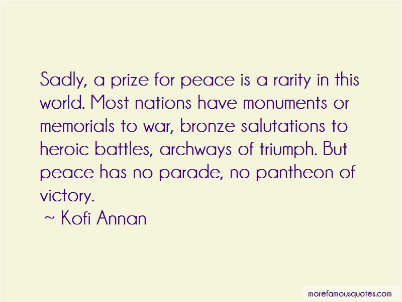War Monuments Quotes