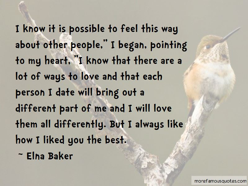 We Are So Different But I Love You Quotes