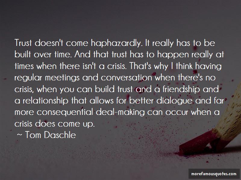We Build Friendship Quotes