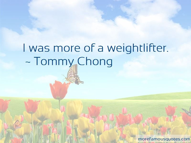 Weightlifter Quotes