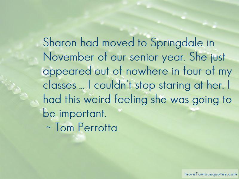 Weird Senior Quotes