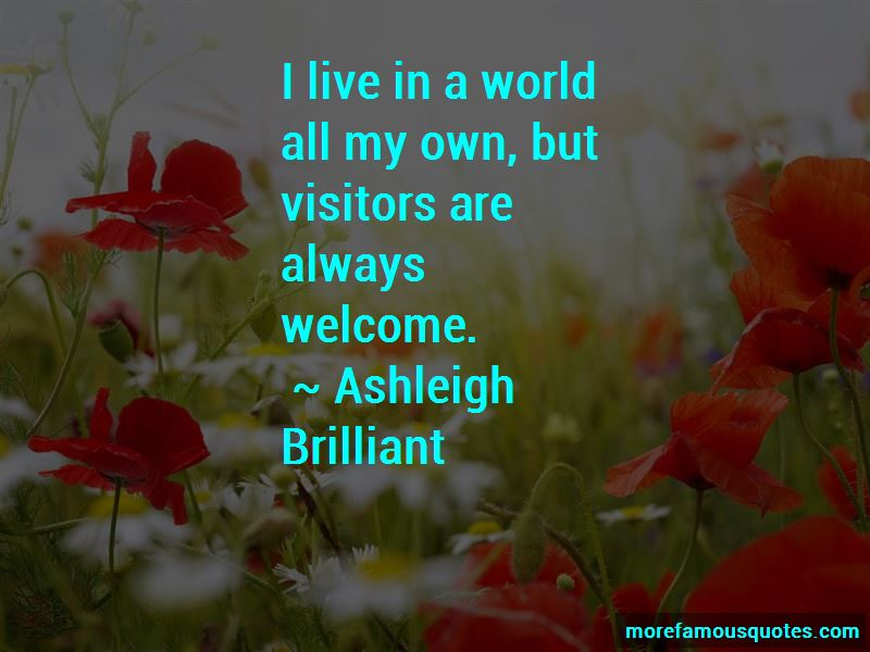 Welcome Visitors Quotes Pictures 4