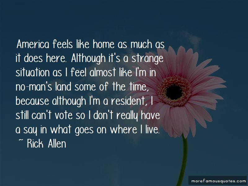 Where I Live Quotes