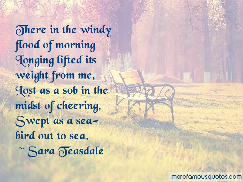 Windy Morning Quotes Pictures 2