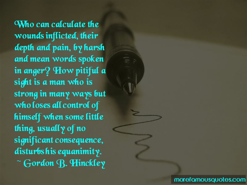 Words In Anger Quotes