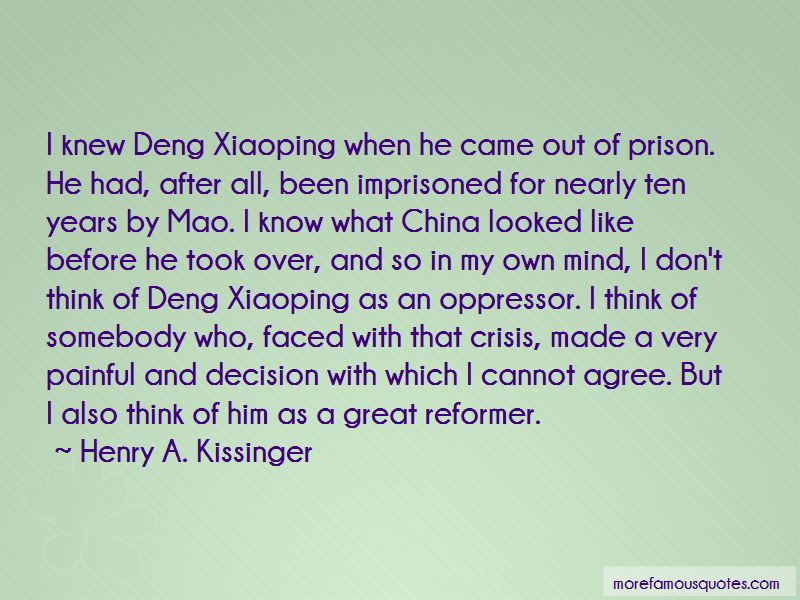 Xiaoping Quotes