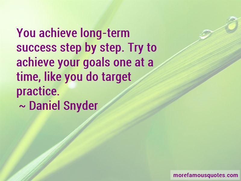 Achieve Target Quotes