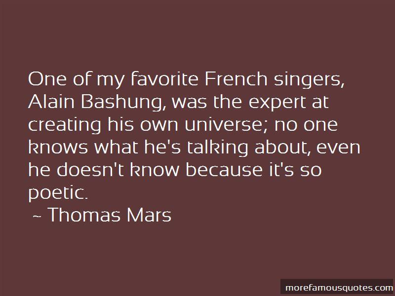 Alain Bashung Quotes