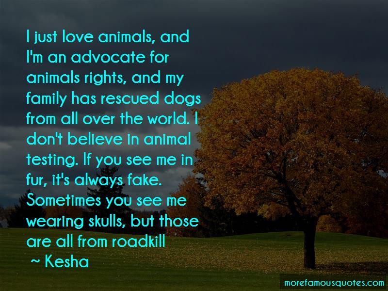 Animal Advocate Quotes