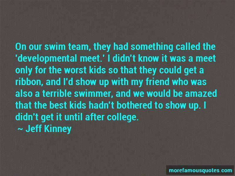 Best Friend Swimmer Quotes
