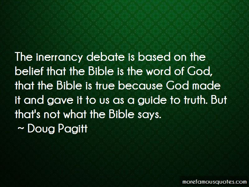 Bible Inerrancy Quotes