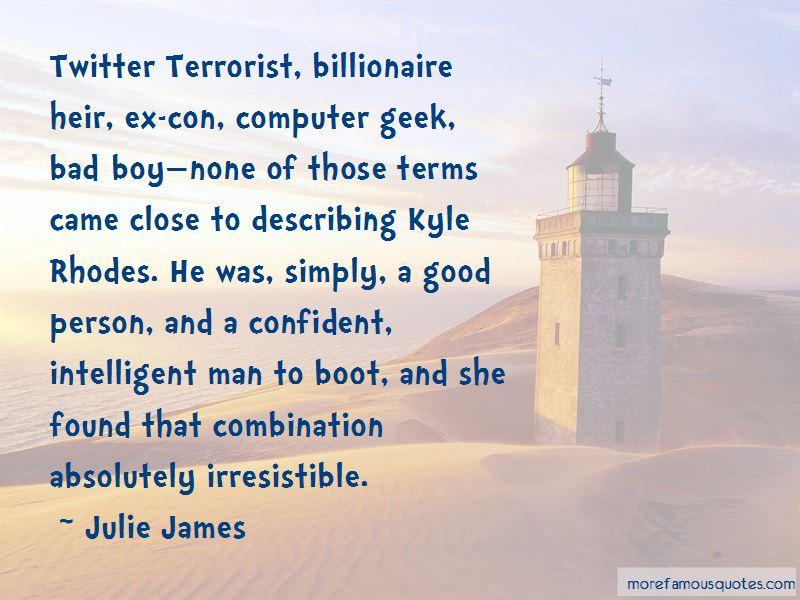 Billionaire Boy Quotes