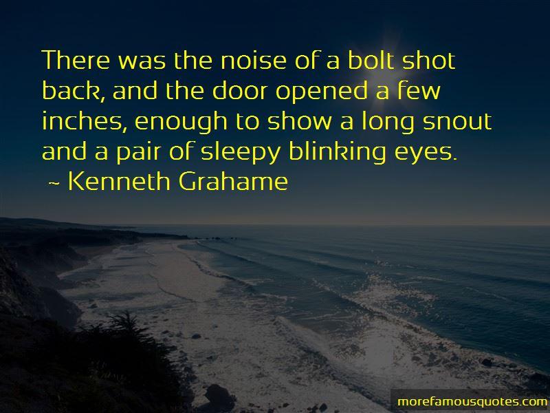 Blinking Eyes Quotes