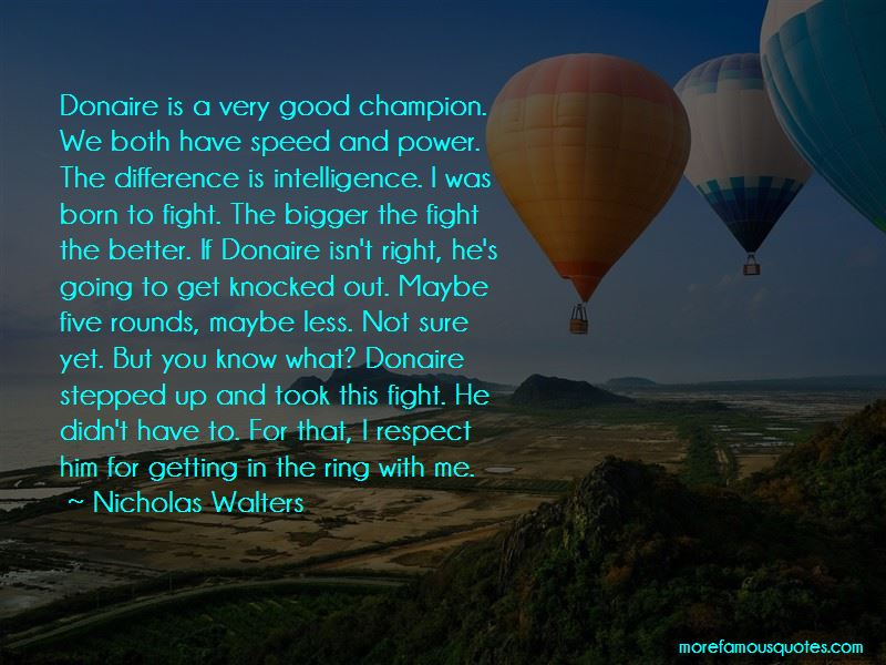 Born To Fight Quotes
