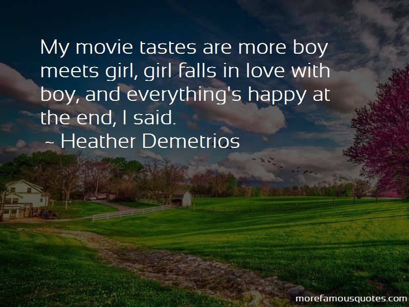 Boy Meets Girl Movie Quotes
