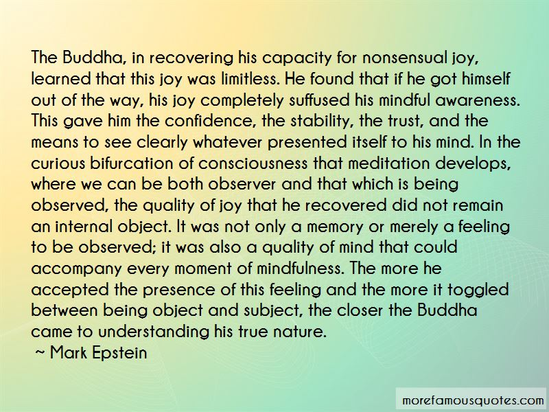 Buddha Stability Quotes
