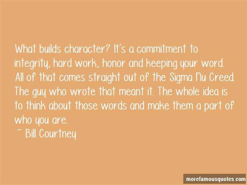 Builds Character Quotes
