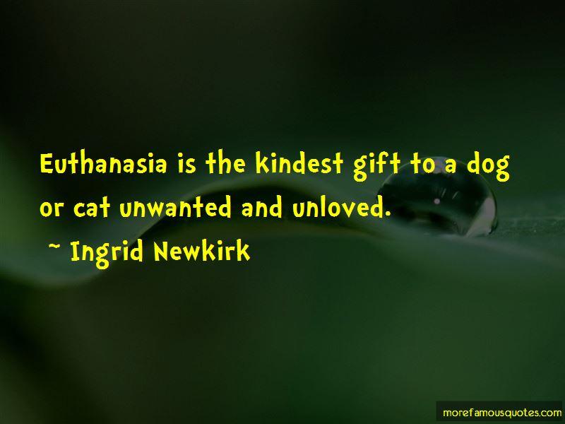Cat Euthanasia Quotes