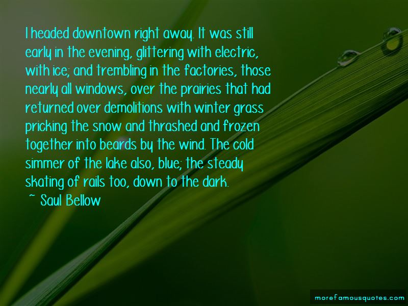Cold Winter Snow Quotes
