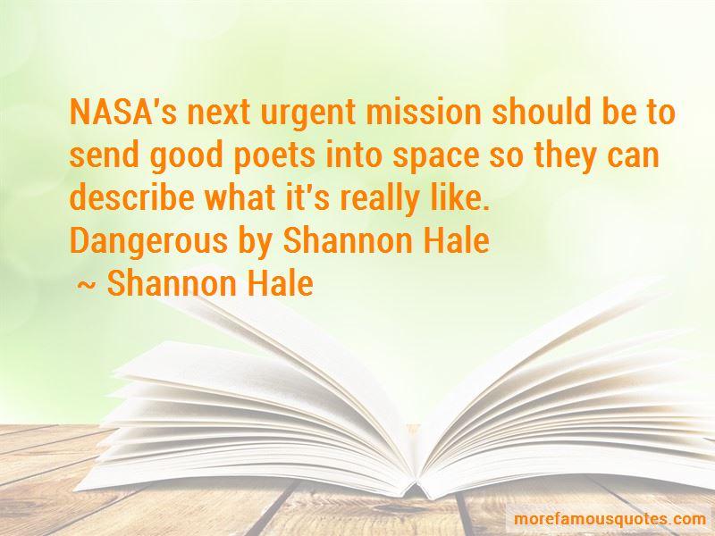 Dangerous By Shannon Hale Quotes
