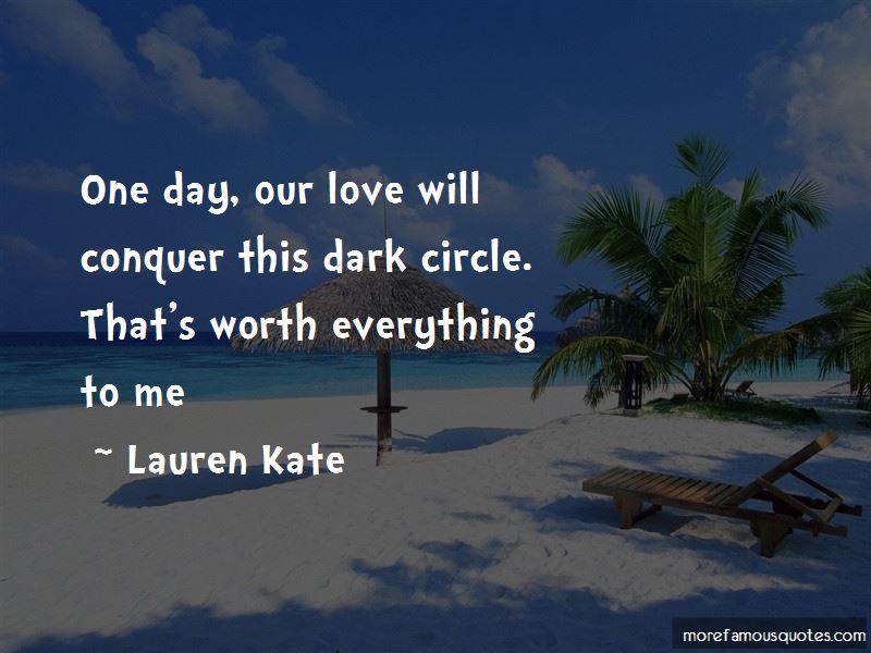Dark Circle Quotes