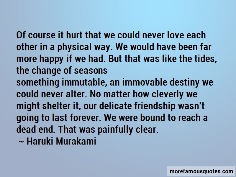 Delicate Friendship Quotes