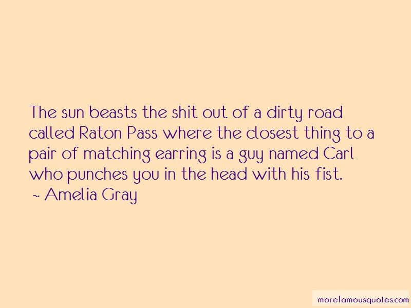 Dirty Beasts Quotes