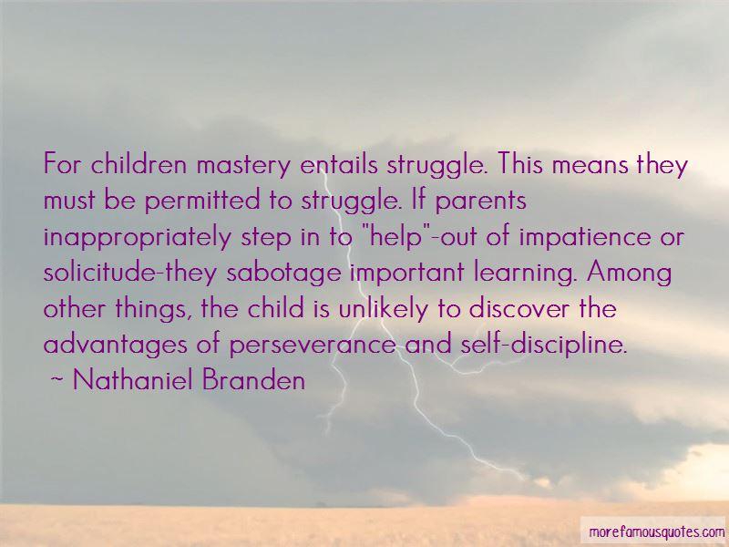 Discipline My Child Quotes: top 48 quotes about Discipline