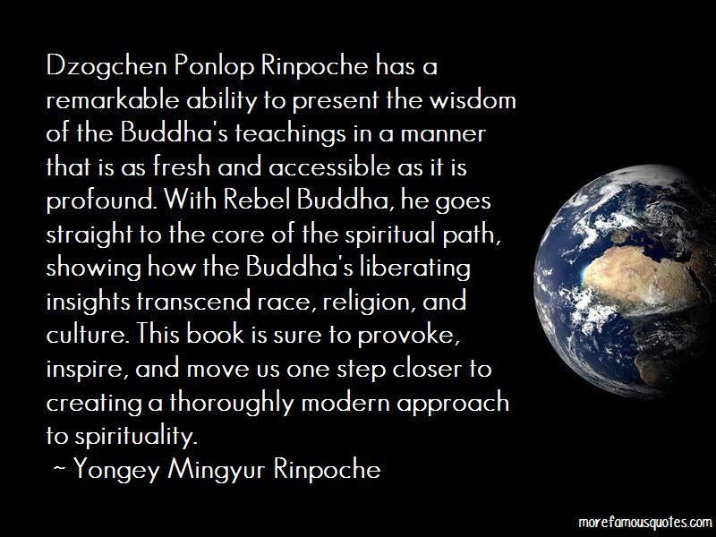 Dzogchen Ponlop Quotes