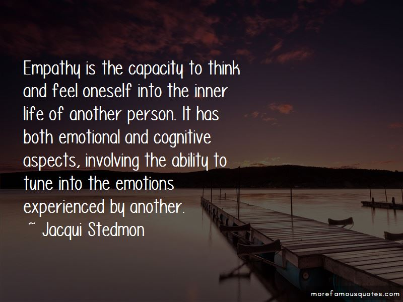 Emotional Empathy Quotes Pictures 4