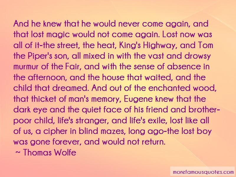 Enchanted Wood Quotes