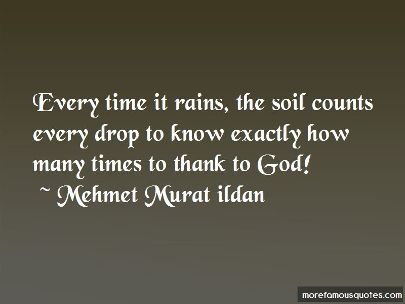 Every Drop Counts Quotes